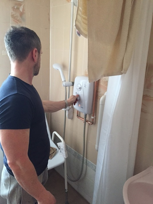 Shower Installers Colchester